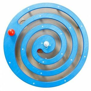 Wandpaneel Kogelspiraal Blauw