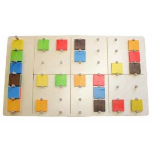 Wandpaneel Sudoku-kleurpuzzel