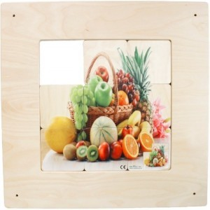 Wandpaneel Schuifspel Fruitmand