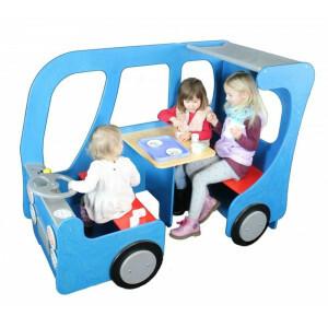 Houten Bus Speelhoek