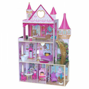 Kidkraft Rose Garden Castle Met Ez Kraft Assembly (10117)