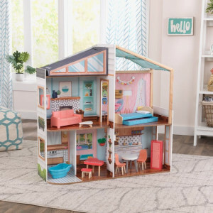 Kidkraft Designed By Me Magnetic Makeover Dollhouse (10154)