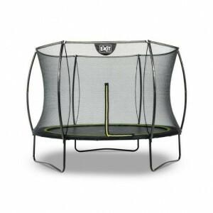 Silhouette trampoline ø244cm - zwart - EXIT (12.93.08.00)