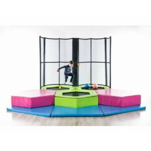 Mini Jump Trampolinepark Kleuters/Peuters, 4 Trampolines