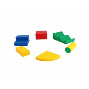 Soft Play Foam Blokken - Set 6-delig