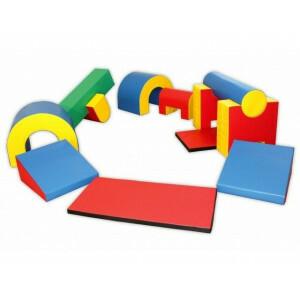 Vouwbare Soft Play Foam Blokken Mega Activity Set