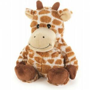 Verzwaarde opwarmbare knuffel - Giraffe (30407)