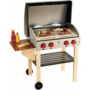 Barbecue - Hape incl. 21 delige basisset