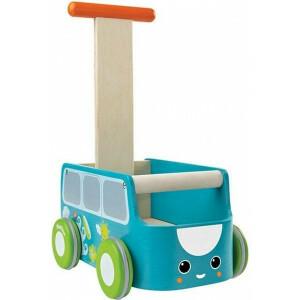 Loopwagen Blauwe Bus