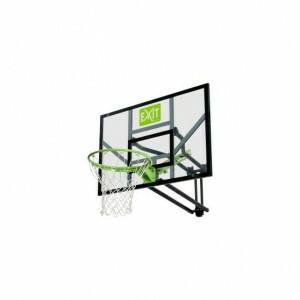Galaxy basketbalbord voor muurmontage - groen/zwart - EXIT (46.01.10.00)