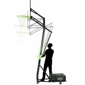 Exit Galaxy Verplaatsbaar Basketbalbord Op Wielen - Groen/Zwart