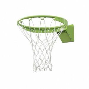 Basketbal dunkring met net - groen - Exit (46.50.30.00)