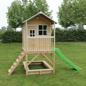 Loft 500 houten speelhuis - naturel - Exit (50.05.21.00)