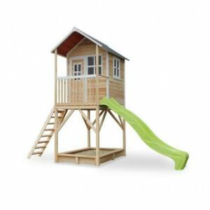 Loft 700 houten speelhuis - naturel - Exit (50.07.21.00)