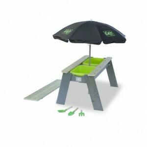 Aksent zand- en watertafel met parasol en tuingereedschap - Exit (52.05.05.45)