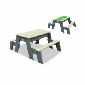 Aksent zand-, water- en picknicktafel (2 bankjes) - Exit (52.05.10.05)