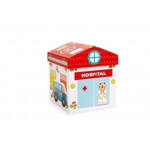 Play Box Hospital 2 In 1