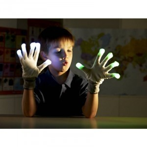 LED-knipperende handschoenen (62235)