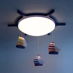 Plafondlamp Zeilboot