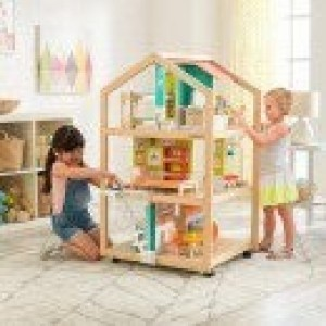 So Stylish Mansion Dollhouse Met EZ Kraft Assembly - Kidkraft (65199)