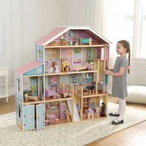 Grand View Mansion Barbiehuis met EZ Kraft Assembly - Kidkraft (65954)
