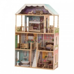 Charlotte Dollhouse Met EZ Kraft Assembly - Kidkraft (65956)