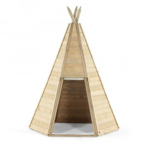 Great Wooden Teepee Hideaway Speelhuis