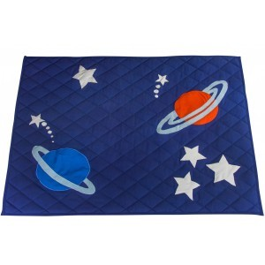 Outer Space and Rocket - Quilt