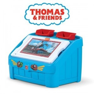 Thomas The Tank Engine 2-in-1 Toy Box & Art Lid - Step 2 (849000)