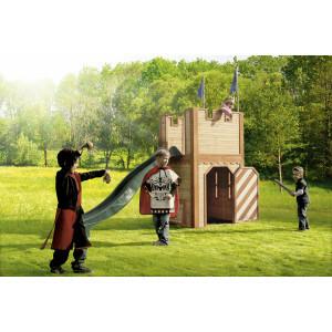 Houten Speelhuisje Arthur (met glijbaan) - Axi (A030.109.00)