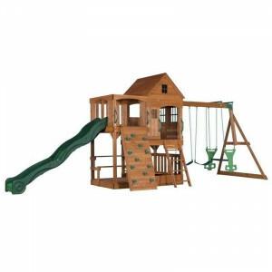 Houten speeltoestel Hill Crest - Backyard Discovery - (B1808058)
