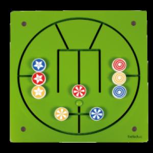 Wandpaneel Speel Element 3 op een rij - Beleduc (23628)