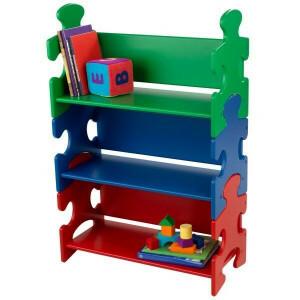 Boekenkast puzzel (primaire kleuren) - Kidkraft (14400)