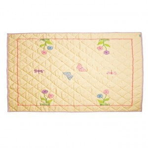 Butterfly Cottage Floor Quilt (Klein) - Win Green (1303)