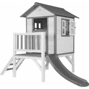 AXI Beach Lodge XL Speelhuis Klassiek - Grijze Glijbaan