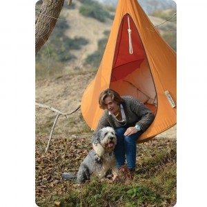 Hangende tent 1 persoon Orange Mango - (Cacoon)