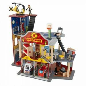Deluxe Brandweerkazerne Set - Kidkraft (63214)