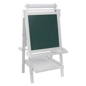 Deluxe Houten Verstelbare Schoolbord (wit) - Kidkraft (62040)
