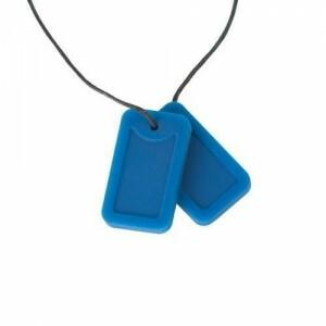 Chewigem Dog Tag Blauw