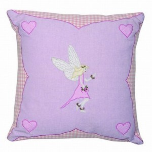 Fairy Cottage Cushion Cover - Win Green (1604)