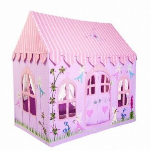 Fairy Cottage Playhouse + Floor Quilt (groot) - Win Green (10041204)