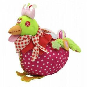 Sweet Chick Roze knuffel / nachtlamp