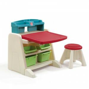 Flip & Doodle Tekentafel met stoel - Step2 (836500)