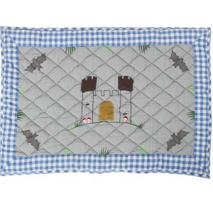 Knight's Castle Playhouse Floor Quilt (Win Green - groot)