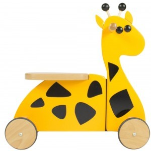 Houten Sit'n' Ride Giraffe Loopfiets - Gepetto (RD01)