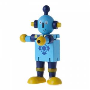 Houten Robot Elastiek
