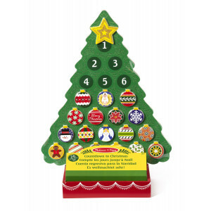 Houten Countdown to Christmas advent kalender - Melissa & Doug (13571)
