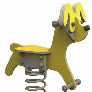 Veerspeeltuig Hond