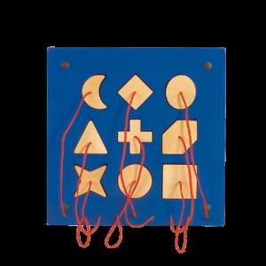 Wandpaneel Speel Element Insteekvormen - Beleduc (23612)