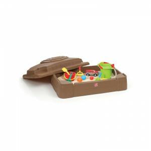 Kunststof Play & Store Zandbak - Step2 (830200)
